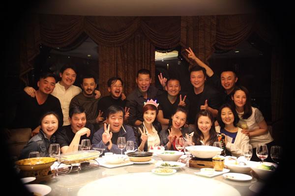 北京电影学院表演系94班20年后聚会 徐晓冬:岁月变迁 友情不变图片